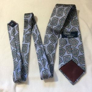 Polo by Ralph Lauren Accessories - Ralph Lauren Polo Periwinkkle Blue Silk Tie